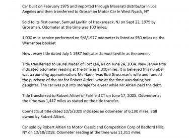1975_Maserati_Bora_ownership_and_odometer_history