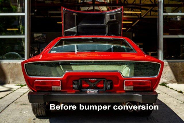Before bumper conversion