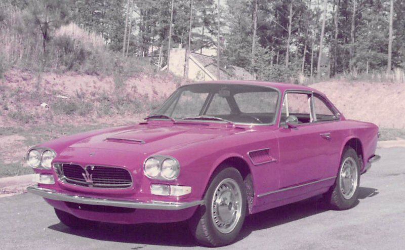 Sebring first Maserati